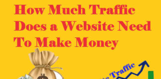 How Much Traffic Does a Website Need To Make Money