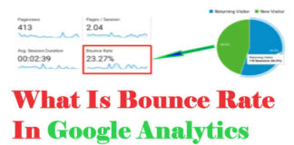 What Is The Bounce Rate In Google Analytics