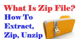 what is a zip file