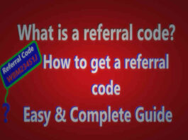 What is a referral code